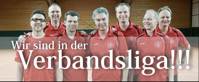 1.Herren 40 des LTCE steigen in die Verbandsliga auf.