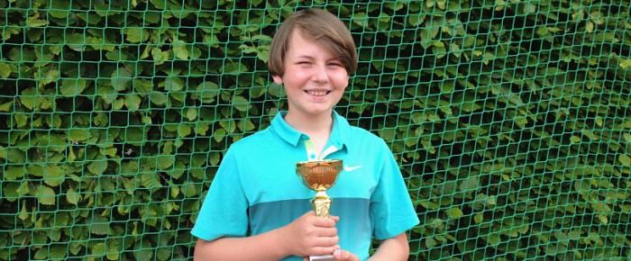 Der Kreismeistertitel in der Altersgruppe U12 gehört dem LTCE