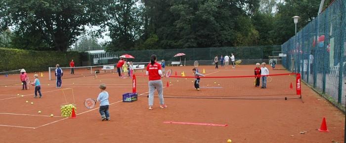 """Erfolgreicher Aktionstag """"Mach mit – spiel Tennis"""""""