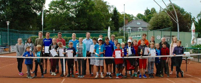 Tennis Stadtmeisterschaften der Jugend in Elmshorn.