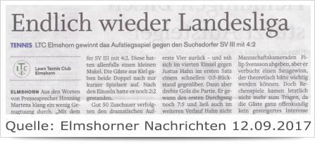 Endlich wieder Landesliga 1.Herren LTCE