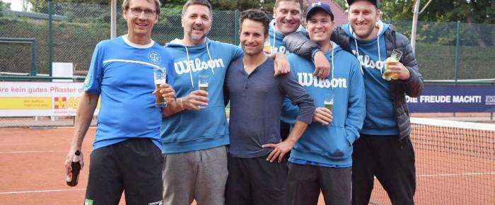 Sieg der Herren 30 im Aufstiegsspiel zur Landesliga
