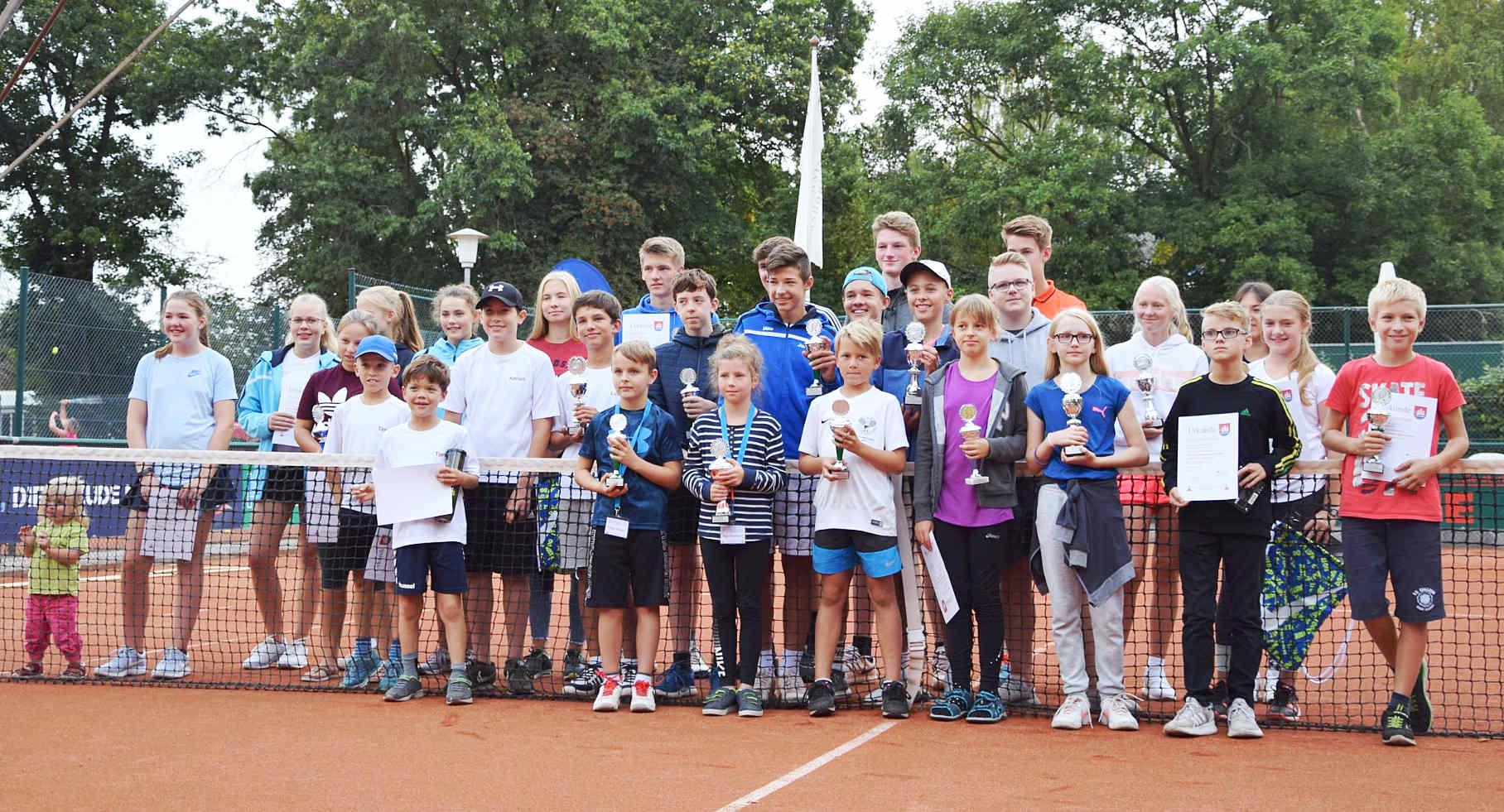 Gruppenbild Jugend-Stadtmeisterschaften