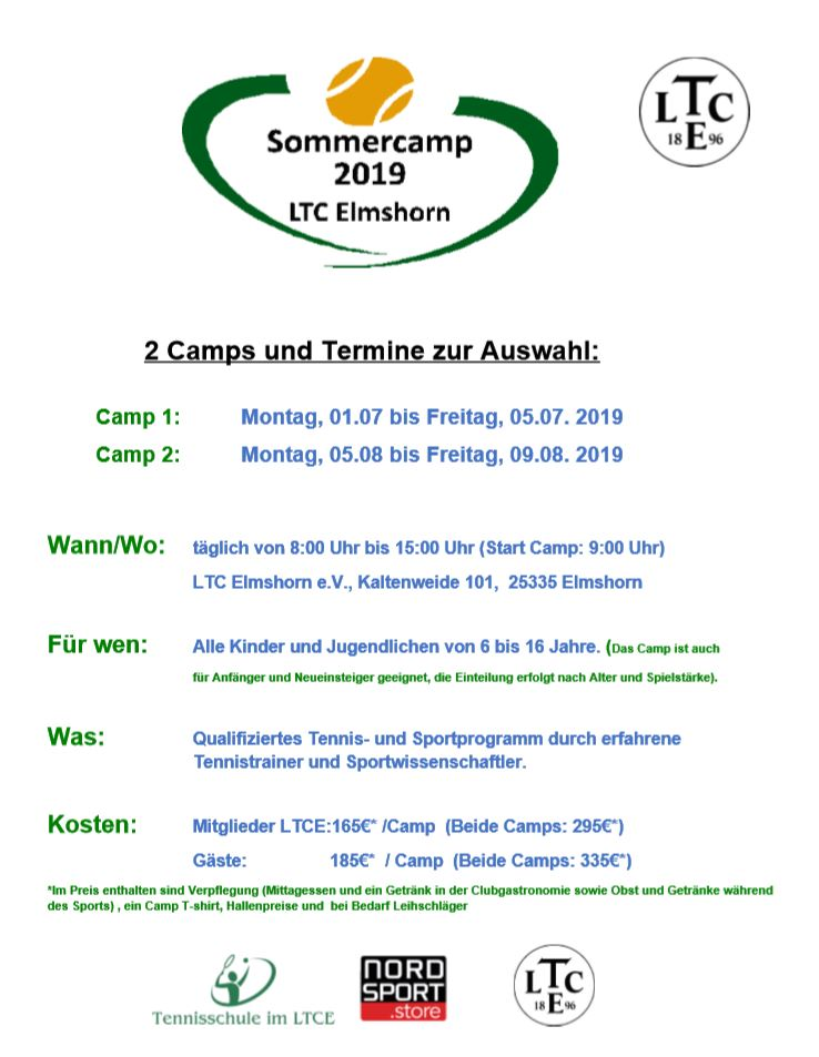 1. Sommercamp 2019