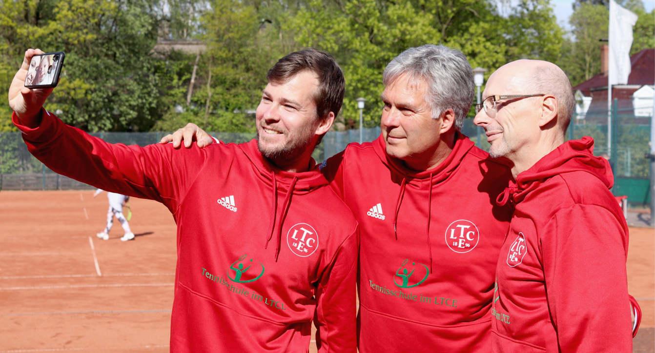 Tennisschule im LTCE-Trainerteam