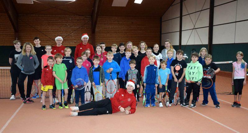 Jugend-Weihnachtsfeier des LTC Elmshorn