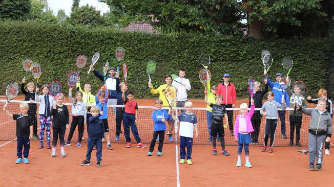 Tenniscamp beim LTCE