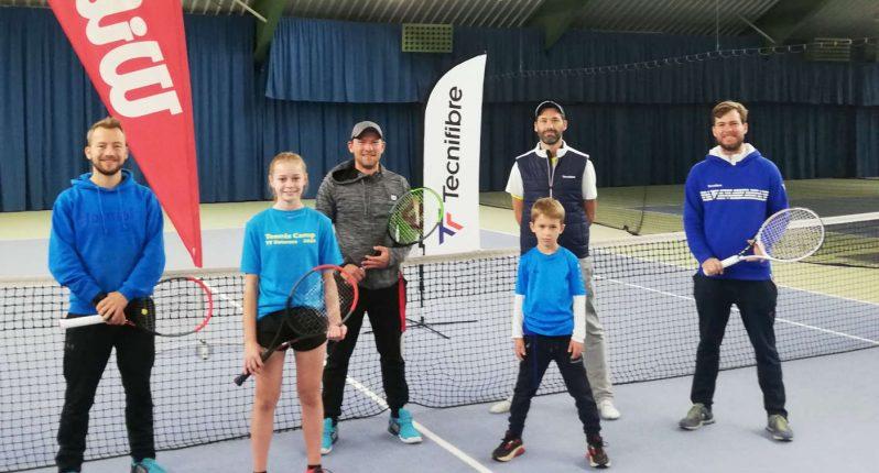 Gemeinsamer Trainingstag der Tennisvereine LTC Elmshorn und TV Uetersen