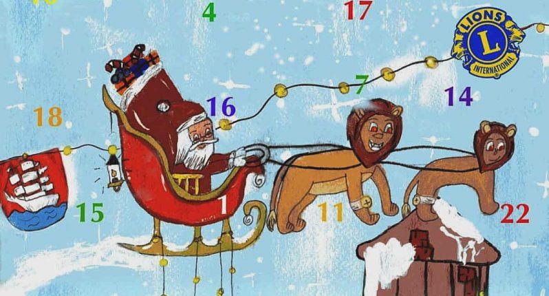 Lions-Club Weihnachtskalender