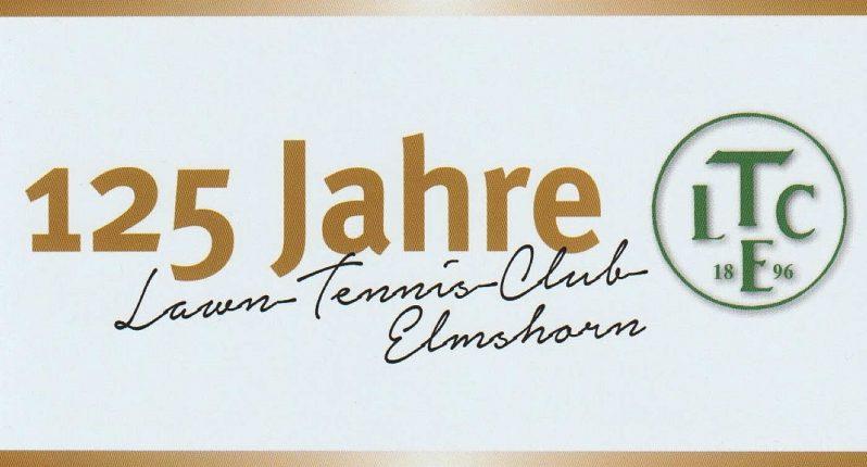 125 Jahre Lawn-Tennis-Club Elmshorn e. V. von 1896