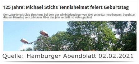 125 Jahre: Michael Stichs Tennisheimat feiert Geburtstag