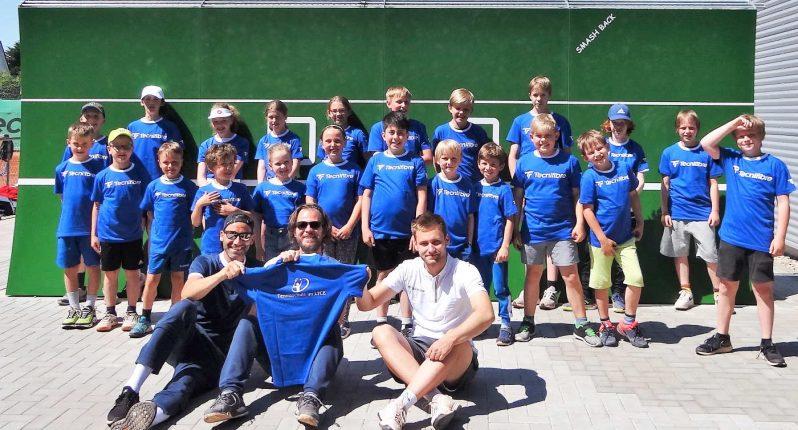 Erstes LTCE-Tenniscamp 2021