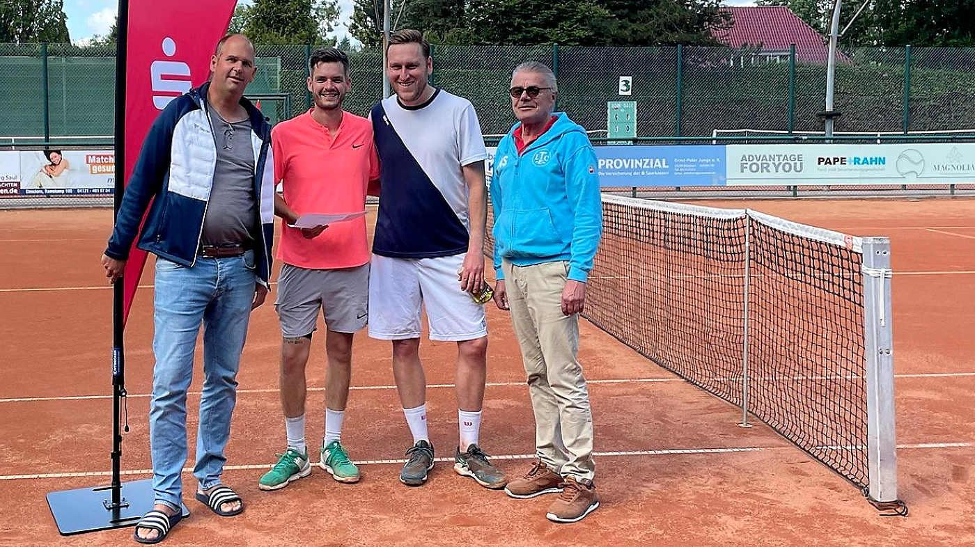 Ben Delhey, Nicolas Kaltschmidt, Andreas Golz, Michael Schiederig