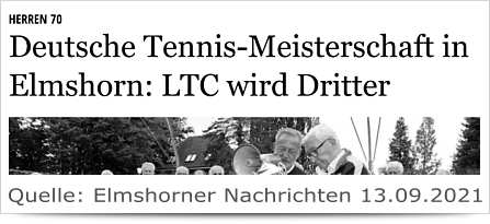 Deutsche Tennis-Meisterschaft in Elmshorn